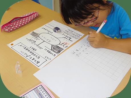 専門講師による日本語での国語・算数授業